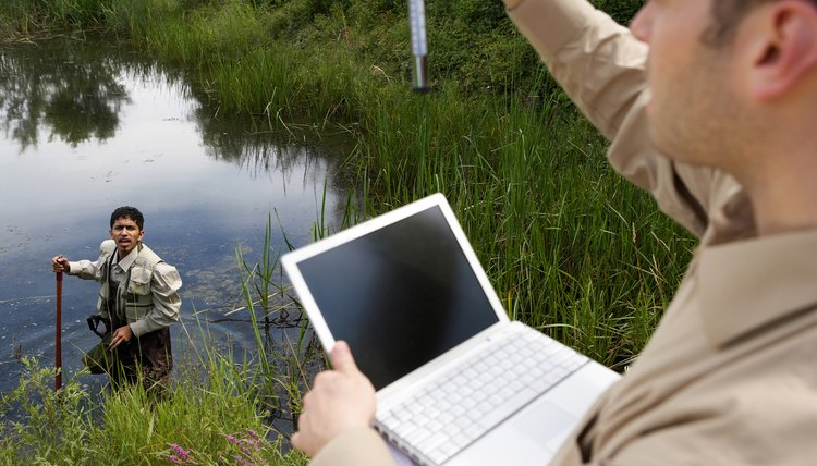 Almost any aquatic environment can be the subject of a research paper.