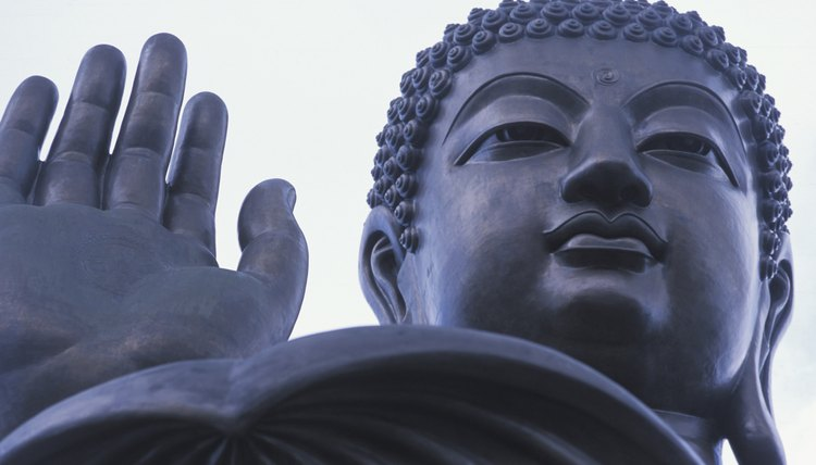 Buddhism preaches that accepting Buddha's teachings will help individuals overcome personal vanity.