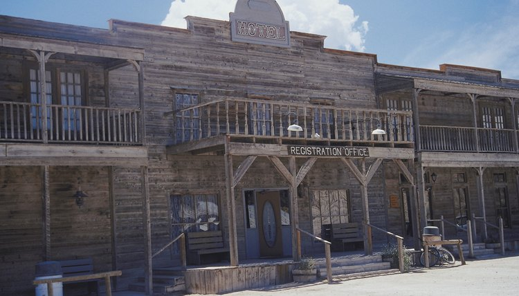 Hickok gained a reputation for gunfights on the dusty streets of Western towns.