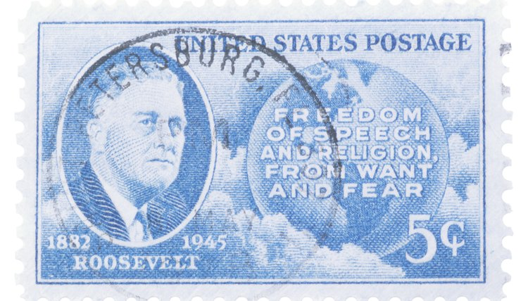 U.S. President Franklin Delano Roosevelt's participated in several of the most crucial World War II  conferences.
