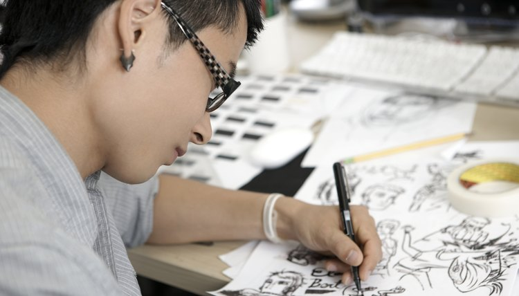 Art school can help you become a professional cartoonist.