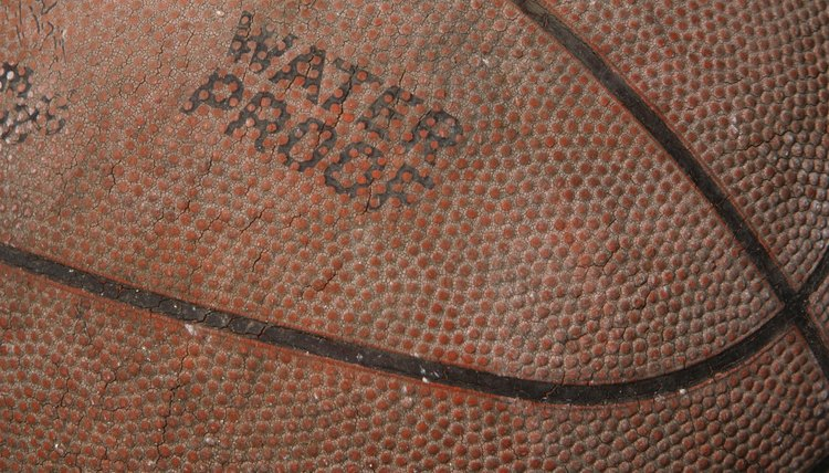 How to Restore a Grip to a Leather Basketball