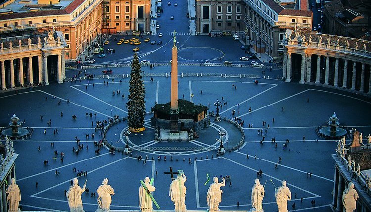 St. Peters Square, Rome