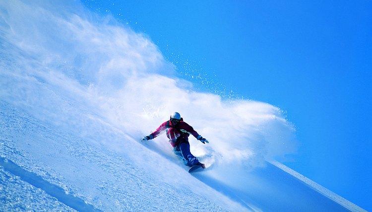 Pack Vs. Powder in Snowboarding