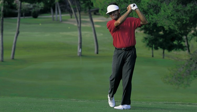 "Practice to groove your swing and create ""muscle memory."""