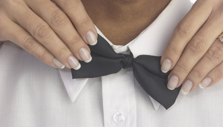 Bow ties are no longer reserved for tuxes.