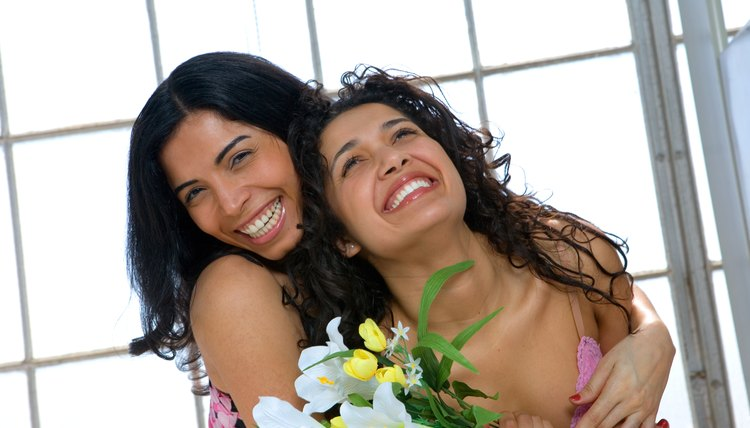 Lesbian couples face discrimination, but overall have committed relationships that are as healthy or healthier than straight couples.