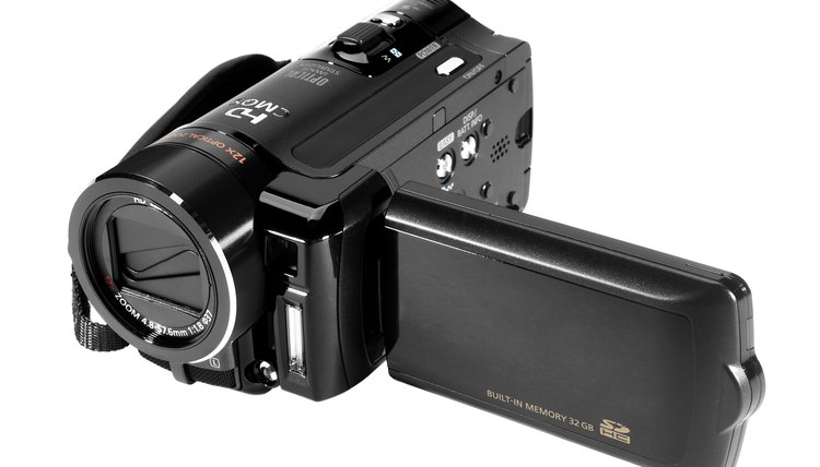 Camcorders can be webcams with the right cables and software.