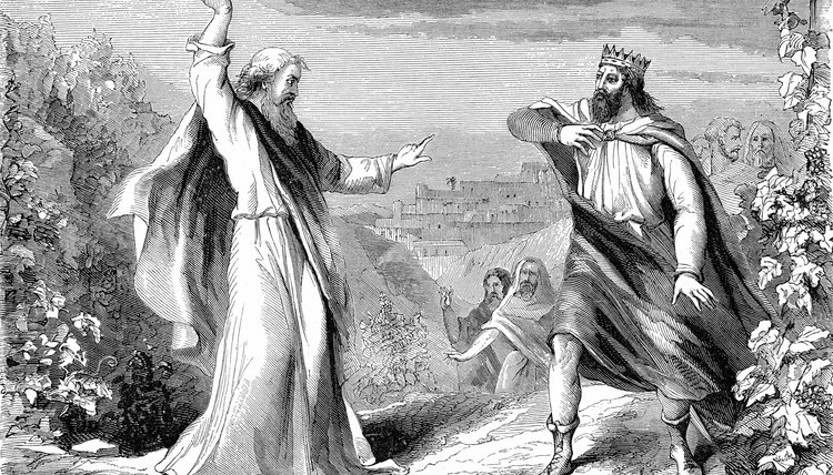 Elijah the prophet denounced Israel's King Ahab for promoting idol worship.
