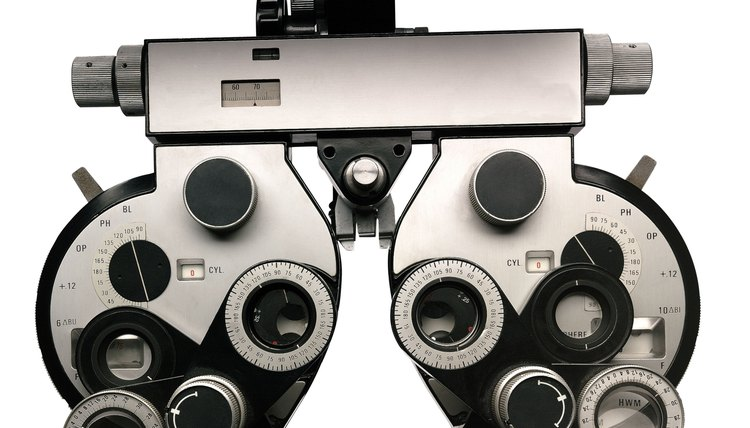 Optometrists, who prescribe lenses and perform exams, are just one type of eye doctor.