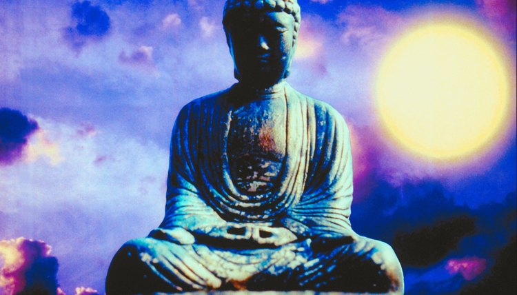Buddhism follows a different conceptual framework from monotheism.