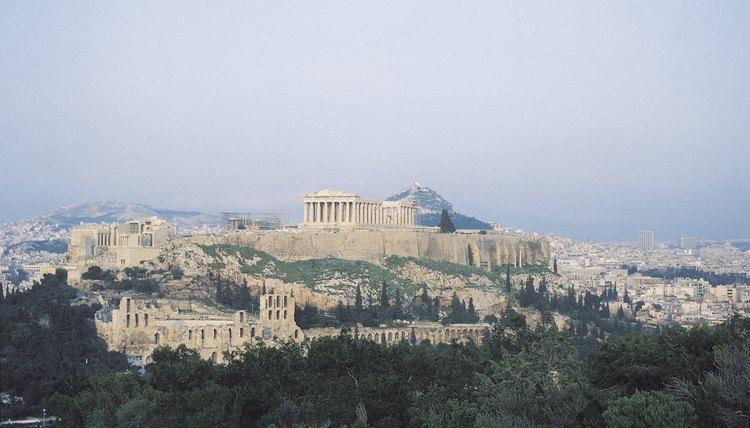Athens' Parthenon, dedicated to the goddess Athena, is located on the Acropolis.