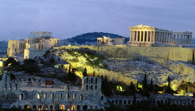 Ruins in Athens stand testament to the ancient democratic power.