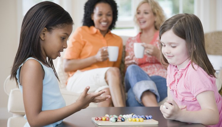 Board games help children learn and practice math skills.