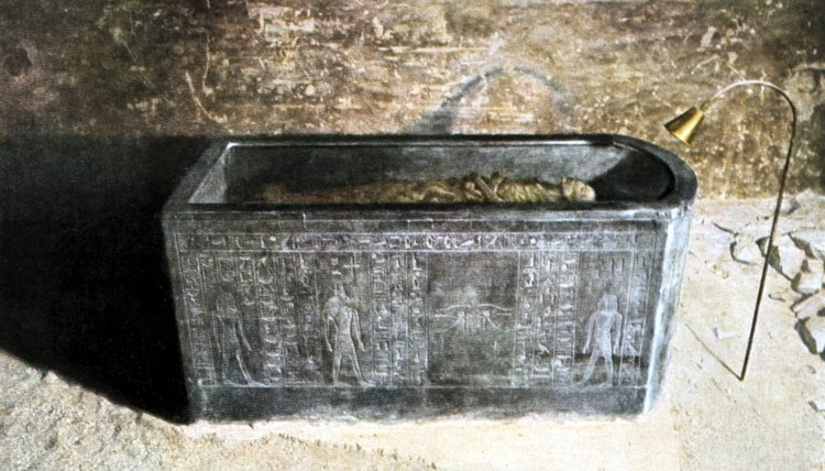 Egyptian tombs were filled with objects intended for the afterlife.