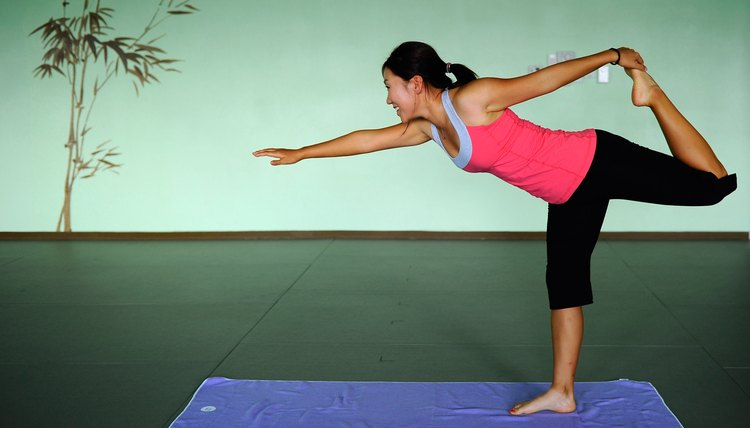 LPGA Tour pro In-Kyung Kim knows the benefits of yoga for core strength.