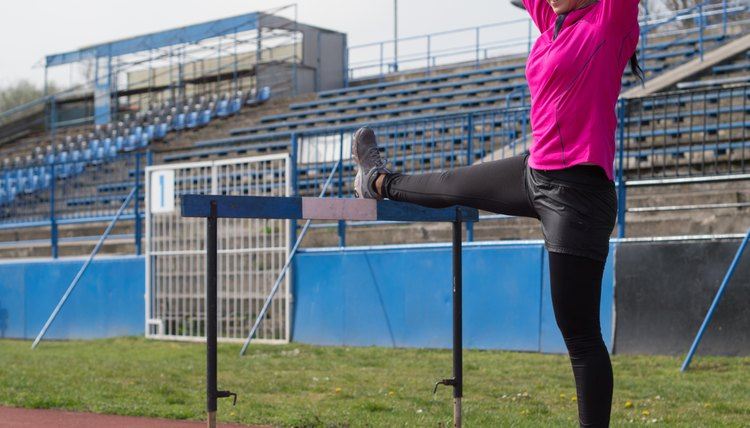 How to Run a Faster 300-Meter Hurdle