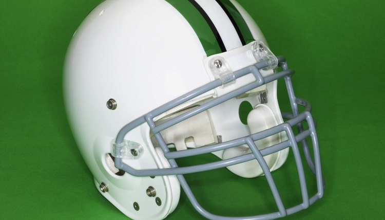 How to Remove Scratches off a Football Helmet