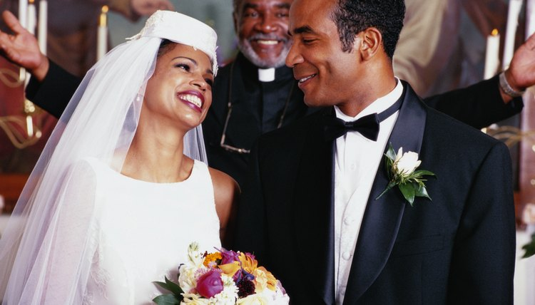 African-American traditional wedding rituals arose from their history in Africa and America.
