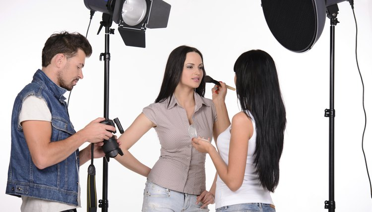 Ideally, have your hair and makeup professionally done before your photo session.