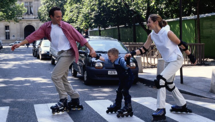 Make inline skating a fun family activity.