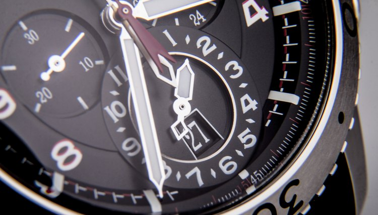 Detail of watch