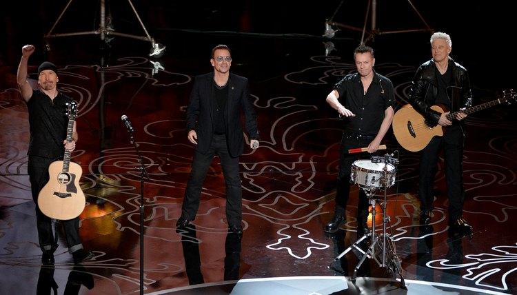 U2 is a celebrated Irish band.
