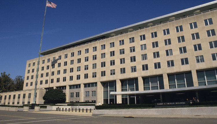The Offices Of The State Department In Washington, D.C., House U.S. Foreign  Affairs Officials