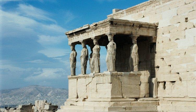 Temple of Athena at Parthenon