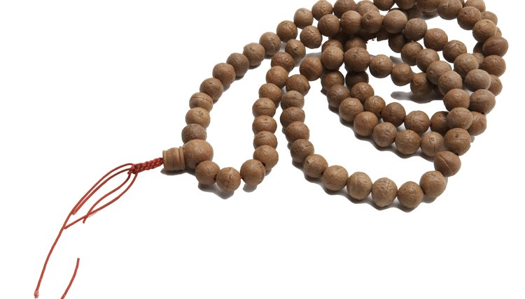 Prayer beads are often used in Vietnamese Buddhism.