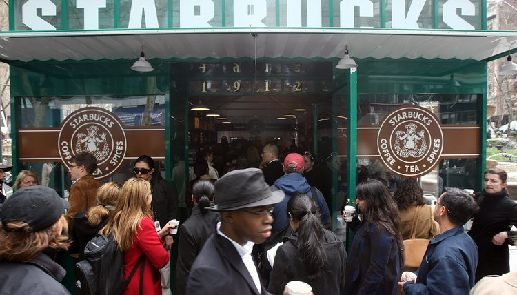 Starbucks CEO Unveils Replica Of Original Store In New York