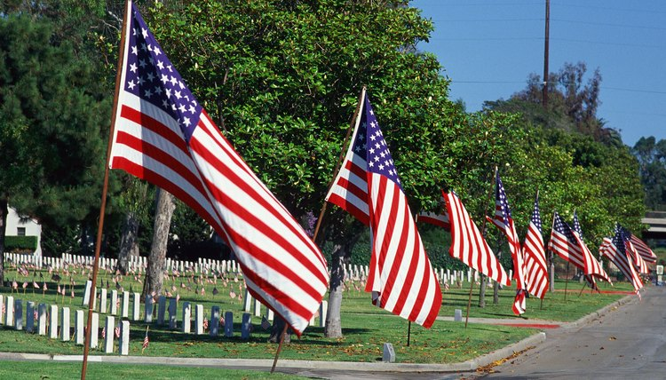Flags are an important part of marking Memorial Day.