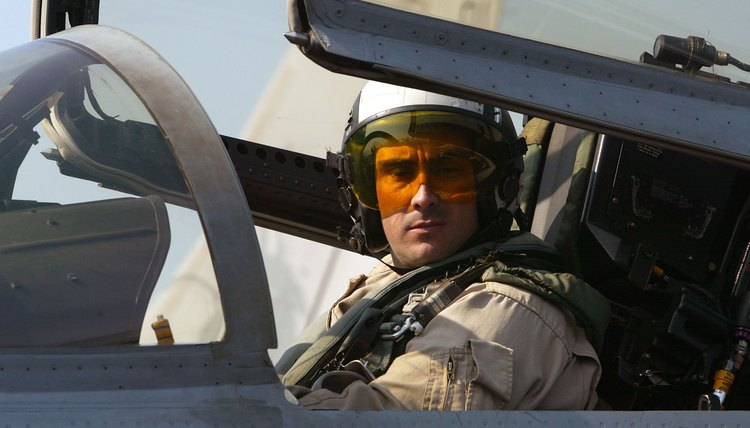 F-18 Super Hornet pilot ready to fly