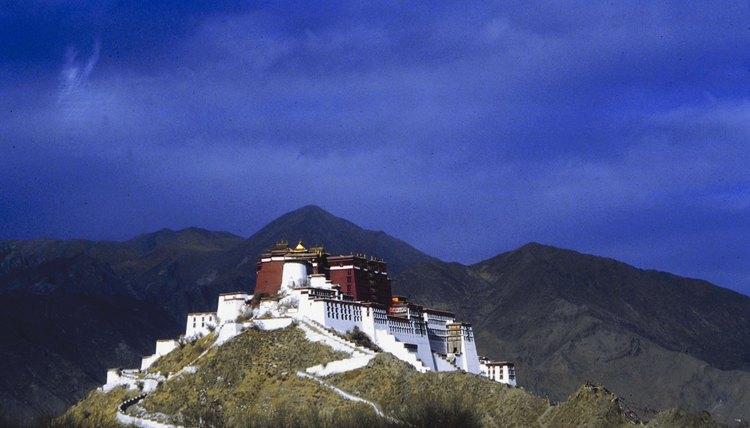 Tibet is a popular destination for Buddhist pilgramages.