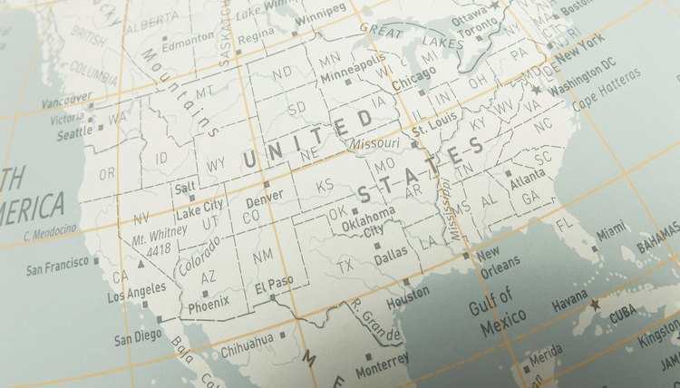 What Are the Six Regions of the United States