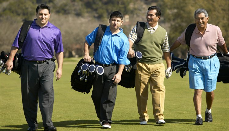 Playing golf with strangers can be a good way to new playing partners.