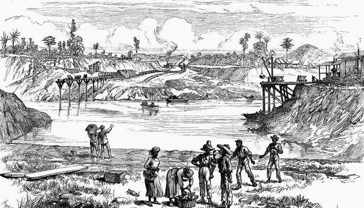 The rebellion in Panama occurred because of a U.S. desire to build the Panama Canal.