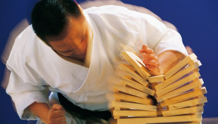 Wood Types Used for Breaking Boards in Karate