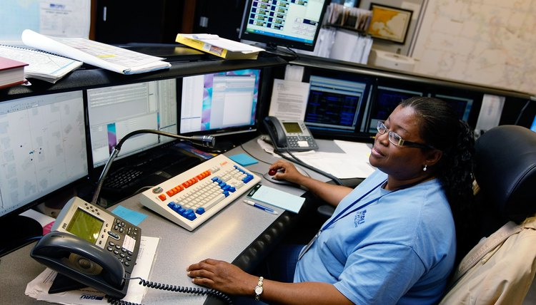 The emergency 911 console was patented in 1977.