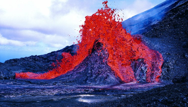 Some schools give students the chance to study active volcanoes.