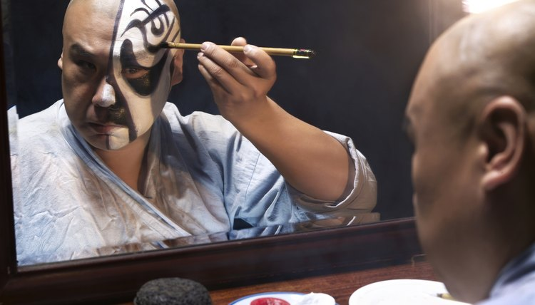 Motion picture special effects make-up schools train artists to create movie memories.