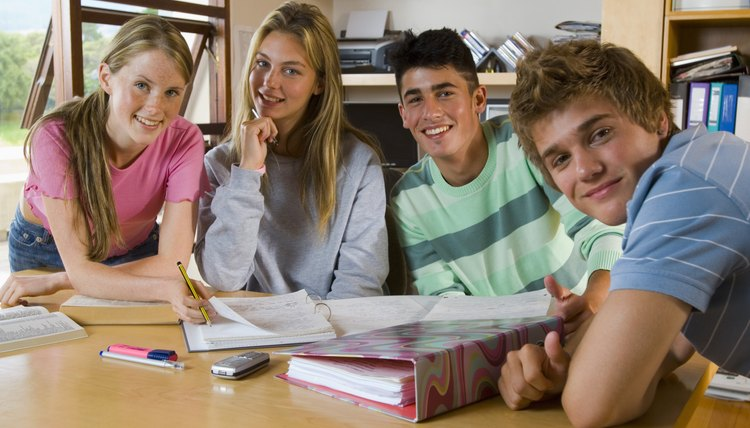 Join an after-school study group that includes boys.