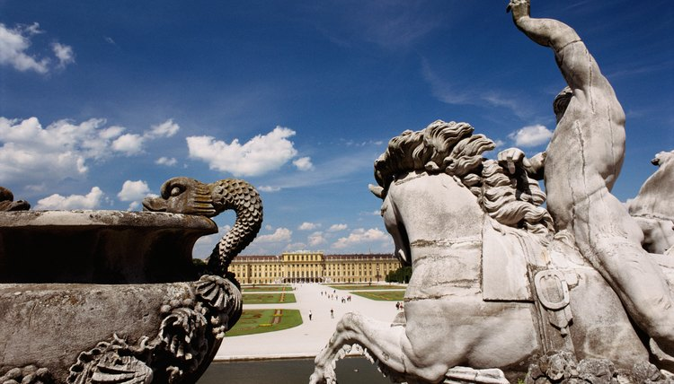 Poseidon, the god of the sea, is frequently shown riding a horse.