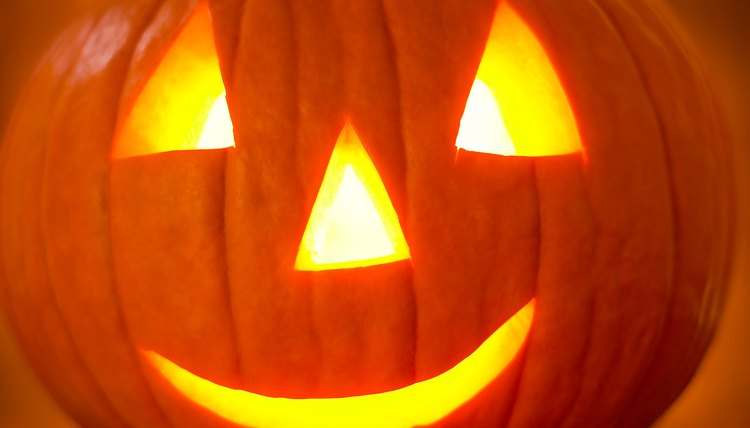 Pumpkins are a New World plant; historic European pagans did not use pumpkins in their October rituals.