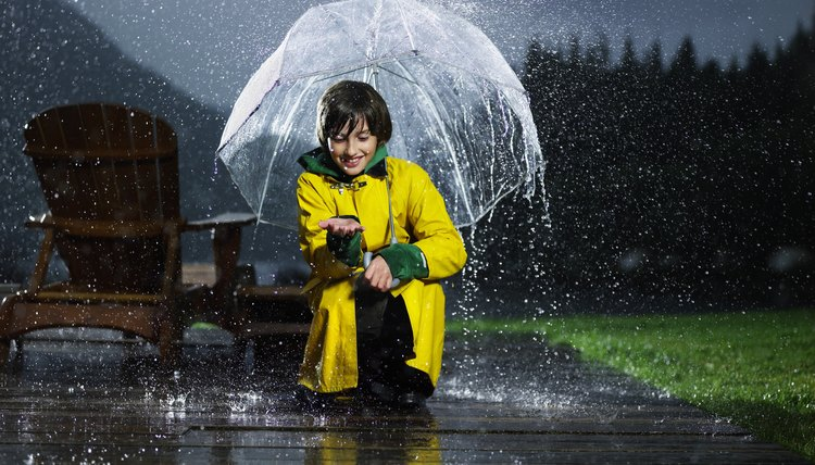 Kids can learn how to take care of themselves in all kinds of weather.