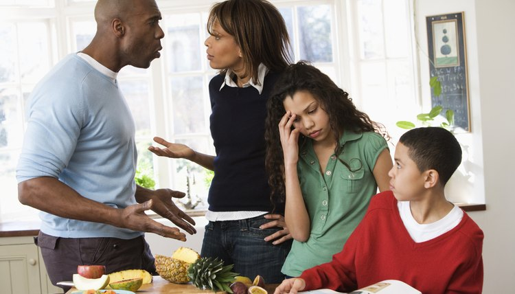 Conflict between parents can affect the whole family.