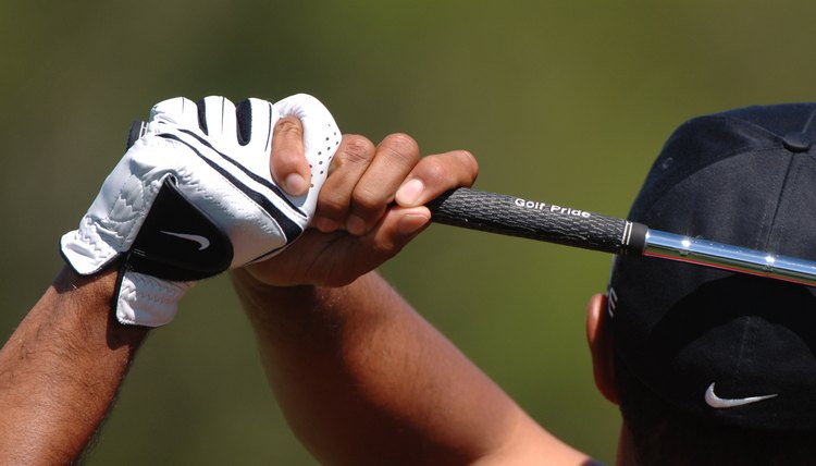 The grip is important, as it's the golfer's only contact point with the club.