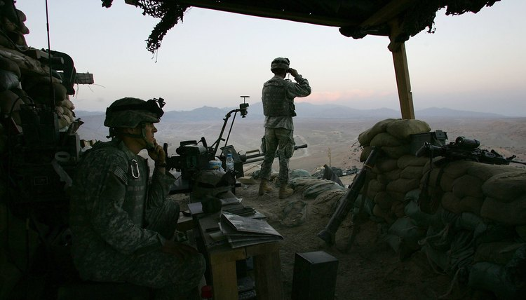 Army soldiers in Afghanistan