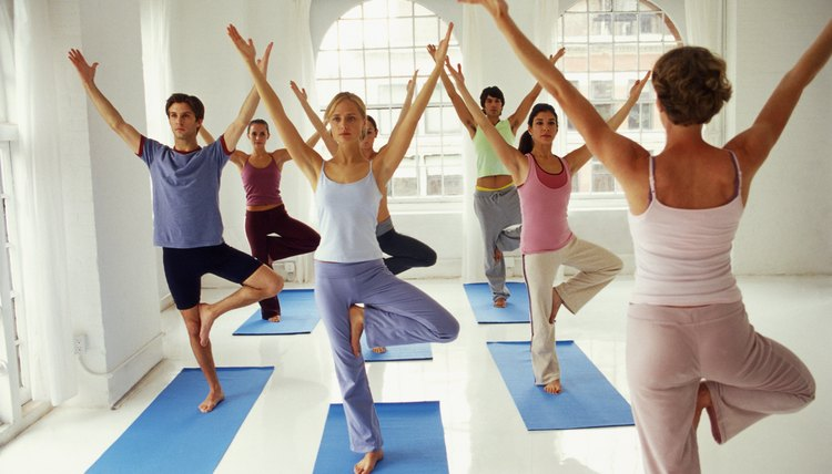 Many colleges offer yoga and pilates as physical education class options.