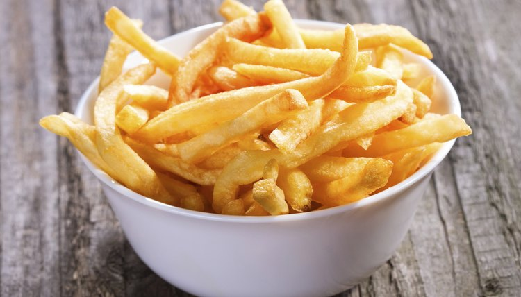 A bowl of french fries.